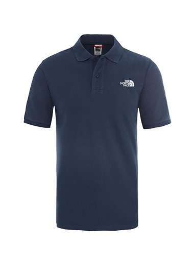 The North Face Erkek Polo Yaka Tişört Piquet Nf00Cg71N4L1 Mavi